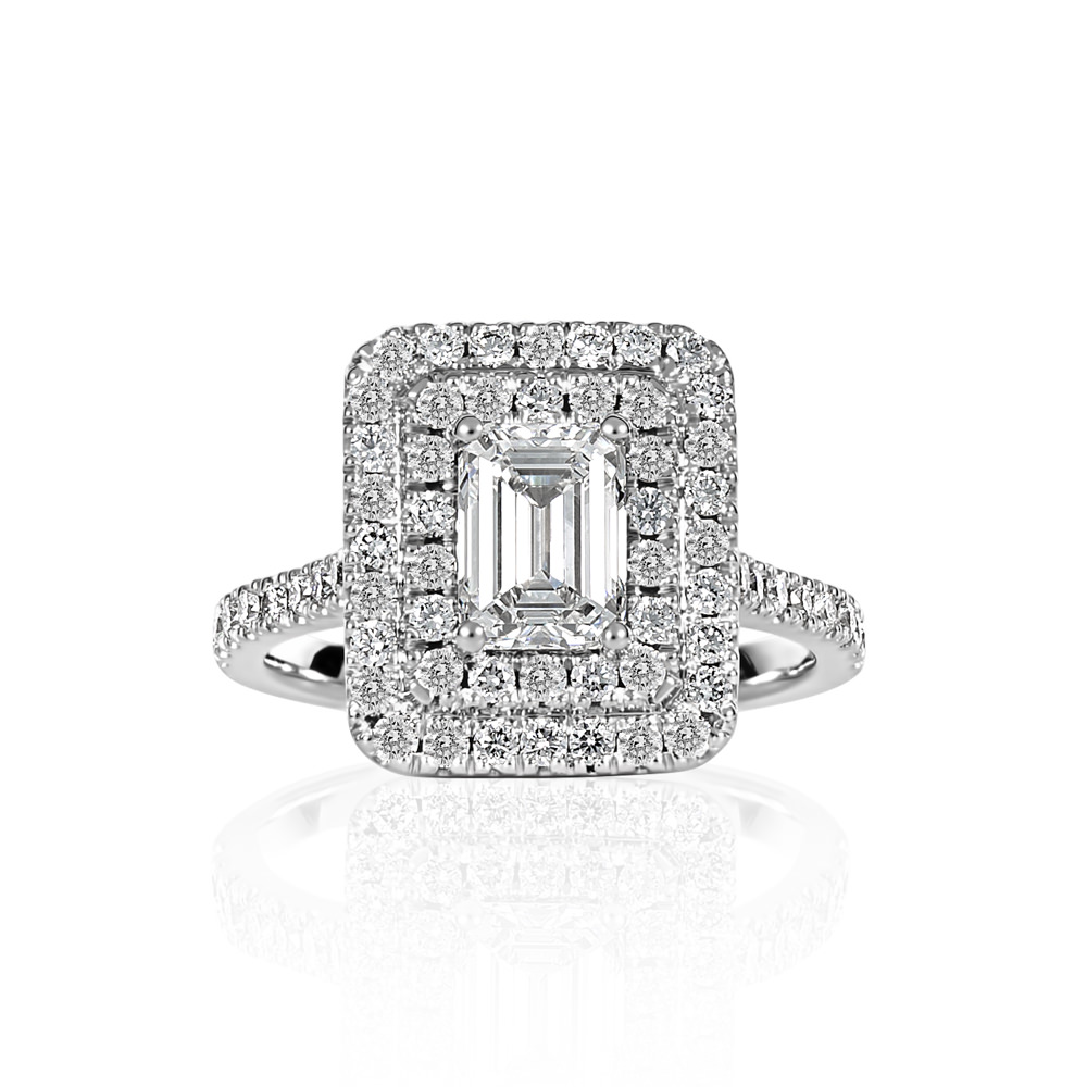 Art Deco Diamond Ring Remodeled- Shannakian Fine Jewellery