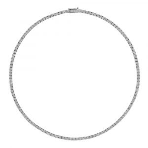 Diamond Tennis Necklace 7.0cts - Shannakian Fine Jewellery