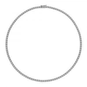 Diamond Tennis Necklace 11.5cts - Shannakian Fine Jewellery