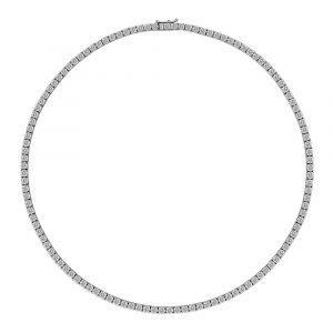 Diamond Tennis Necklace 11.5cts - Shannakian Fine Jewellery