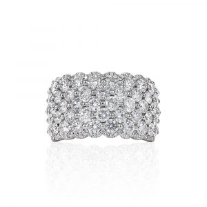 Diamond Pave Ring Shannakian Fine Jewellery