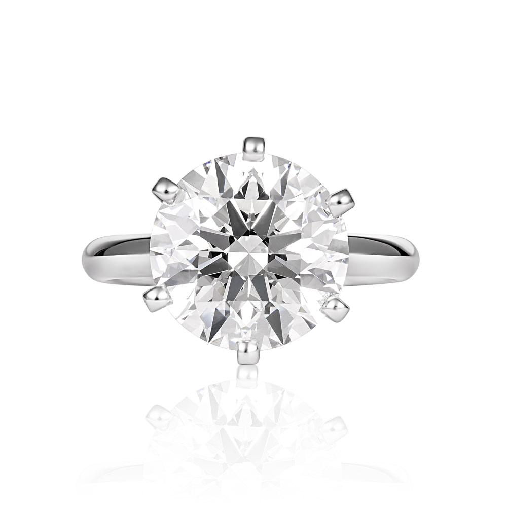 Diamond Solitare Engagement Ring