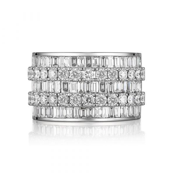 Baguette Diamond Ring Single